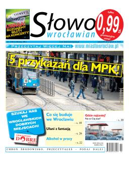 UWAGA! - Słowo Wrocławian