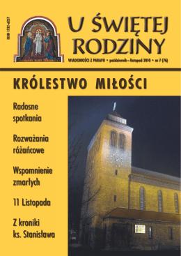 KRÓLESTWO MIŁOŚCI - Parafia Świętej Rodziny we Wrocławiu
