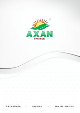 Pobierz katalog Axan Partner