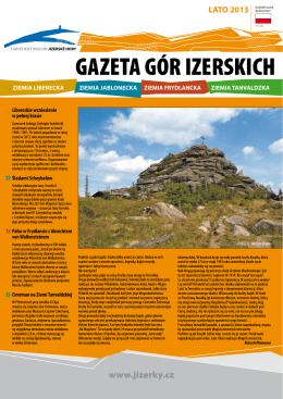 gazeta gór izerskich lato 2013
