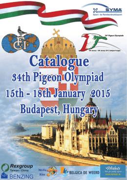 34. Postagalamb Olimpia 34. Racing Pigeon Olympiad