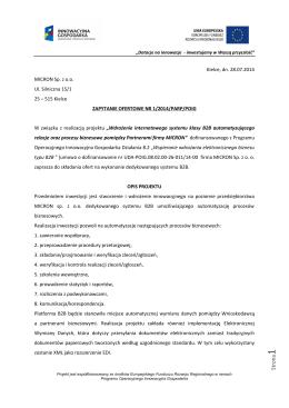 Zapytanie ofertowe [PDF]