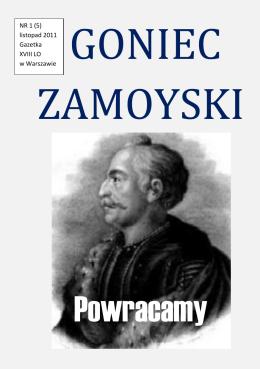 Powracamy - XVIII LO im. Jana Zamoyskiego w Warszawie