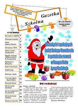 Gazetka Szkolna - nr 2 (r.szk. 2010/11)