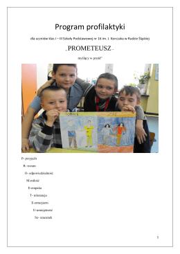 program profilaktyki prometeusz dla klas i