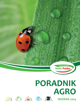 Poradnik Agro Wiosna 2014