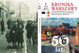 Kliknij, aby przeczytać... - Archiwum Państwowe m.st. Warszawy