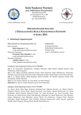 pdf- Koło Naukowe Fizyków