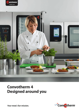 Convotherm 4 Designed around you