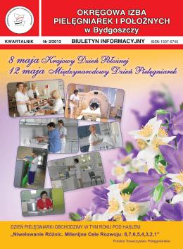 Biuletyn nr 2/2013 - Okręgowa Izba Pielęgniarek i Położnych w
