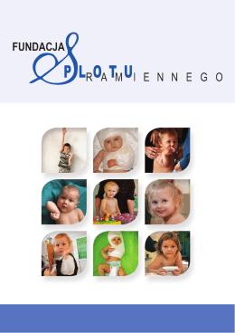 Folder informacyjny - Fundacja Splotu Ramiennego