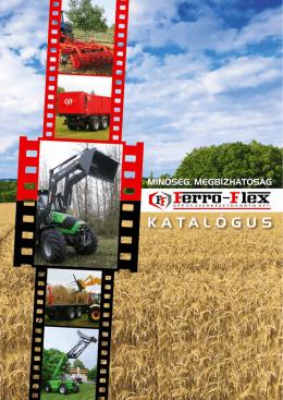 Katalógus - Agro