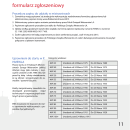 11 formularz zgłoszeniowy