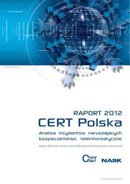 RAPORT 2012 - CERT Polska