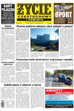 """""""Życie Częstochowy i Powiatu"""""""