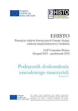 EHISTO Podręcznik doskonalenia zawodowego nauczycieli