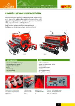 univerzális mechanikus gabonavetőgépek vega - szal-agro