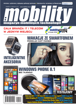 WAKACJE ZE SMARTFONEM WINDOWS PHONE 8.1