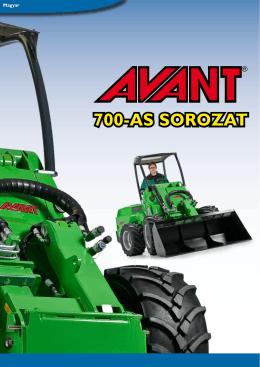 700-AS SOROZAT