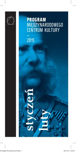 MCK Program 2014 styczen-luty PL.indd