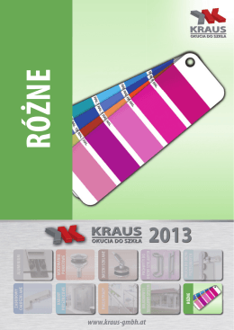KRAUS GmbH - kraus glasbeschläge