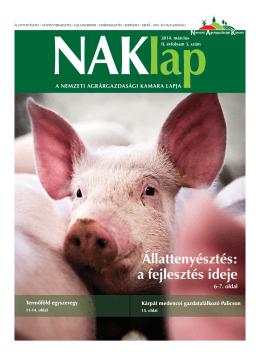 NAKlap - Nemzeti Agrárgazdasági Kamara