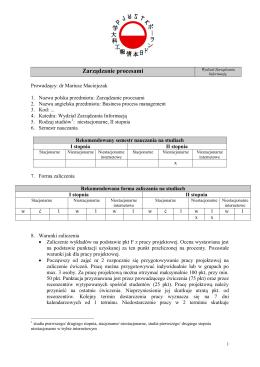 Projektowanie i analiza usług sieciowych (PAS)