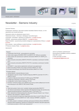 Newsletter - Siemens Industry