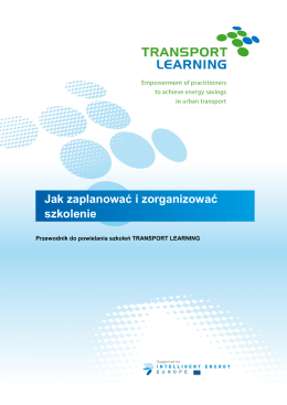 1. O projekcie TRANSPORT LEARNING
