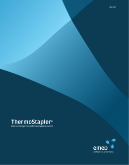 System zamykania naczyń ThermoStapler - EMED