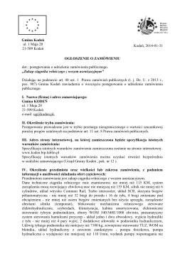 Plik źródłowy - Urząd Gminy Kodeń
