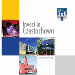 "Folder ""Invest in Czestochowa"""