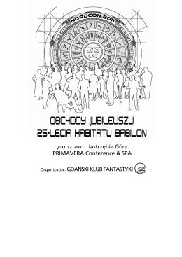 7-11.12.2011 Jastrzębia Góra PRIMAVERA Conference