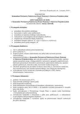 Ogloszenie_o_naborze.pdf - Komenda Powiatowa Państwowej