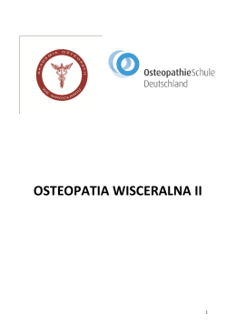 OSTEOPATIA WISCERALNA II