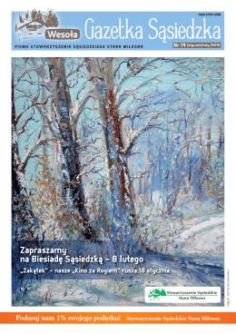 Nr 14 / luty 2014 - Stowarzyszenie Sąsiedzkie Stara Miłosna