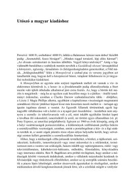 Az új médiamonopólium - Utószó a magyar kiadáshoz