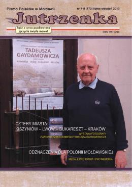 """pobierz całość - """"JUTRZENKA"""", pismo Polaków w Mołdawii"""