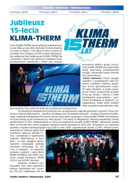 Jubileusz 15-lecia KLIMA-THERM