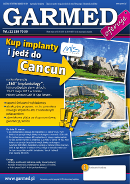 Cancun - MIS Poland