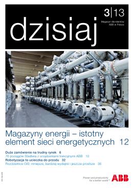 Magazyny energii – istotny element sieci energetycznych 12