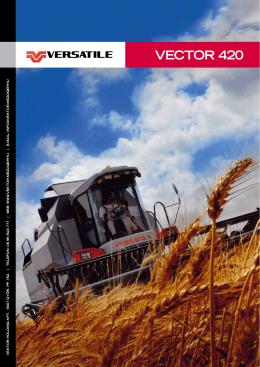 Versatile VECTOR 420 prospektus lo