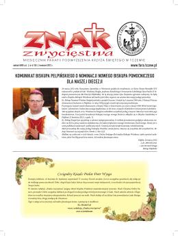 Znak Zwycięstwa Kwiecień 2012 - Parafia Podwyższenia Krzyża