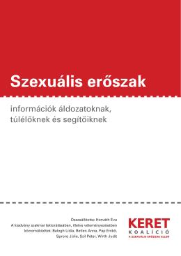 Szexuális erőszak -- információk áldozatoknak, túlélőknek és