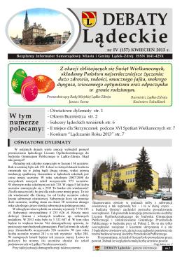 Debaty Lądeckie - Lądek