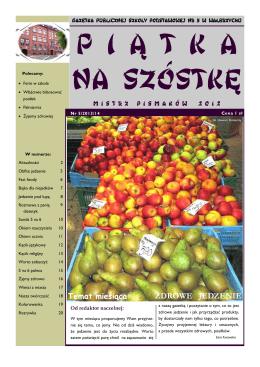 Gazetka 5/2014  - Publiczna Szkoła Podstawowa Nr 5 im