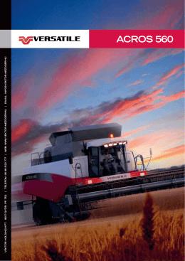 Versatile ACROS 560 prospektus