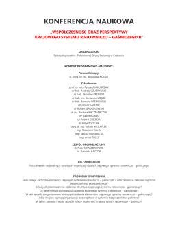 Konferencja - Szkoła Aspirantów Państwowej Straży Pożarnej w
