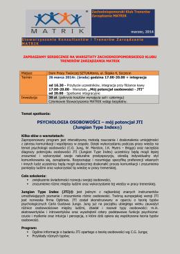 Jungian Type Index