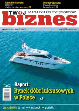 Rynek dóbr luksusowych w Polsce s. 8